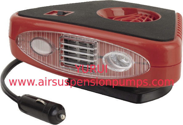 Triangle Red And Black Portable Car Heaters  2 In 1 Useful For Vhicle