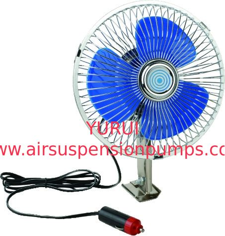 2 - Speed 6 Inch Electric Cooling Fans For Cars With Full Safety Metal Guard
