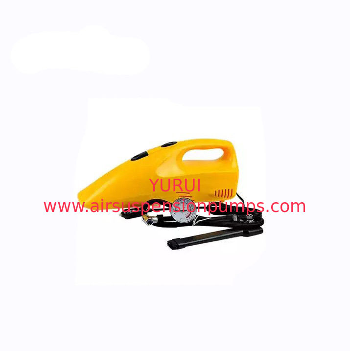 Yellow Dry Portable Car Vacuum Cleaner Plastic Material 35w - 60w Optional