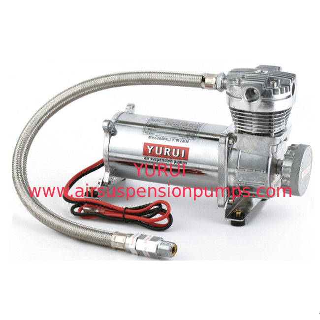 Heavy Duty Metal Air Compressor 200psi Silver Color 2.5cfm 1 Year Warranty