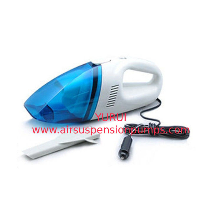 Blue White Portable Car Vacuum Cleaner 0.7 Kgs With One Year Warranty