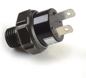 黒い空気の空気ポンプ付属品/プラスチック12v空気圧縮機の圧力スイッチ